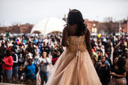 Kalamazoo Central celebrates 2018 prom in 'Glitz and Glamour' style