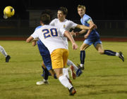 St. Paul's 1, Northshore 0: Connor Walmsley's goal is the difference in district victory