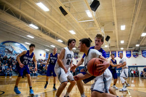 Hemlock got off to a fast start, but was forced to rely on Nolan Finkbeiner's free-throw shooting to escape with a 49-43 Tri-Valley Conference West Division win Friday over Saginaw Nouvel. Hemlock led 21-6 after one quarter and took a 36-22 lead into the fourth quarter. But Nouvel cut the lead to one point with a minute remaining. Finkbeiner, a Hemlock sophomore, made four free throws to clinch the win as the Huskies improved to 3-0 in the league. Michael Zolinski led Hemlock with 13 points and eight rebounds, with Finkbeiner adding 10 points. Jayden Evans scored eight and Jonas Kanouse seven. Brady Devereaux paced the Huskies with 11 rebounds. Michigan statewide scoreboard Saginaw High runs past Arthur Hill