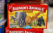 Animal cracker packaging changes to show animals uncaged after PETA pressure