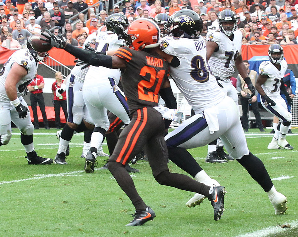 Denzel Ward has three interceptions in five games with the Browns 3de2ae0d0