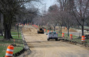 Kibby Road construction begins, now closed to through traffic