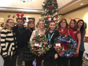 Wreaths for a Reason raises $1,000  for Toy for Joy
