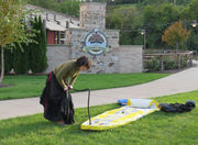 SUP, witches? See the first Coven of Witches stand-up paddle on the Cuyahoga River