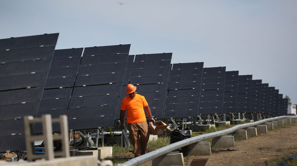 Cuyahoga's solar farm nearly complete, first landfill-based array in Ohio