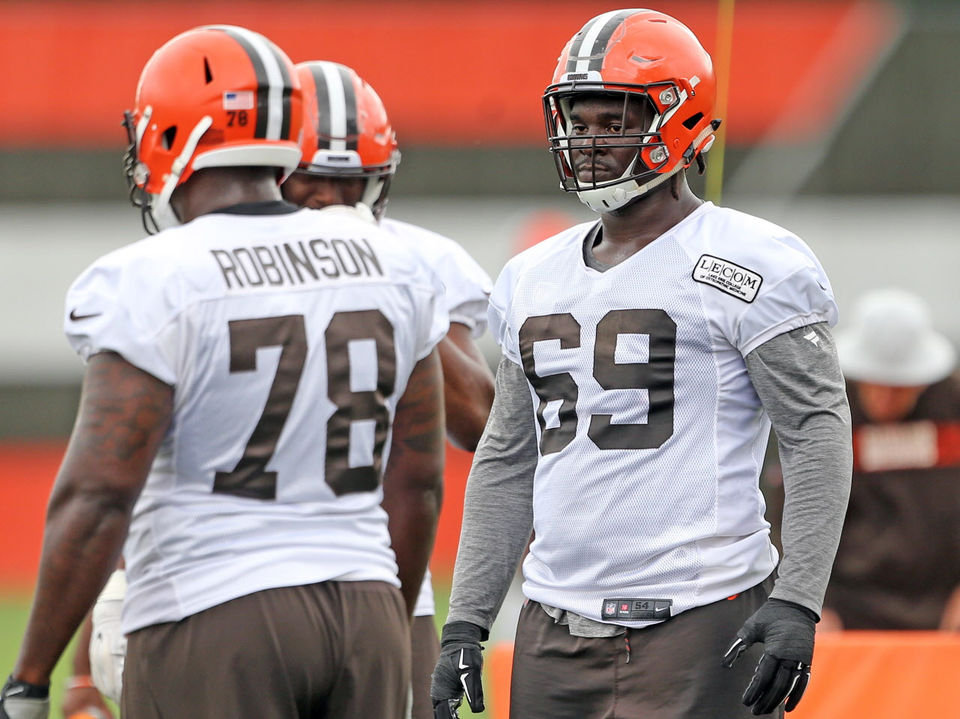 1ec18890a Browns LT Desmond Harrison: The improbable untold story of the next man up  to replace Joe Thomas