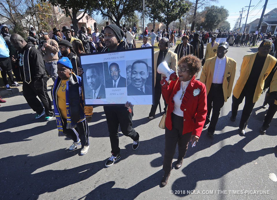 Martin Luther King Jr Memorial March 2019 Photos Nola Com