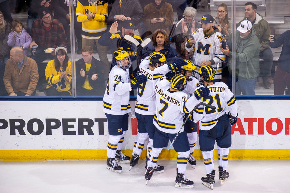 Michigan college hockey power rankings  Several in-state teams on the rise 80cb9b969