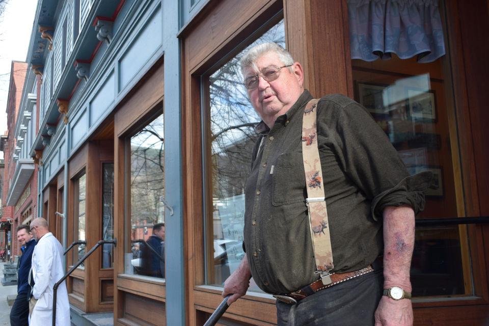 Conrad Halberg of Shelburne Falls