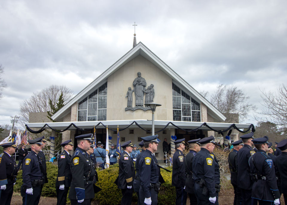 Sgt. Sean Gannon funeral: He was the 'Tom Brady of our department,' says Yarmouth Police Chief Frank Frederickson