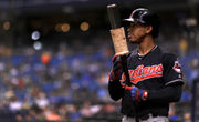 Who bats leadoff, plays shortstop for the Cleveland Indians with Francisco Lindor on the shelf?