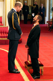 Drumroll please: It's Sir Ringo as ex-Beatle knighted (Photos)