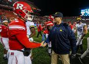 Rob Ash? Michigan's Jim Harbaugh screws up the name of the Rutgers coach