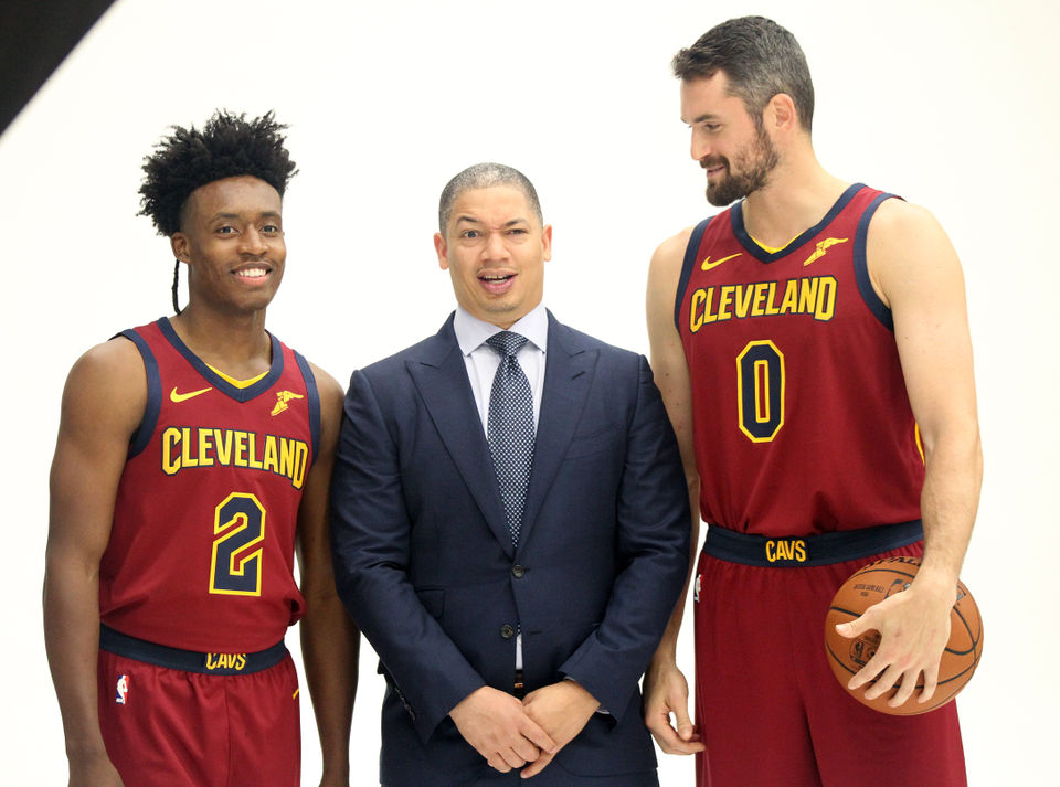 What happened at Cleveland Cavaliers Media Day 2018