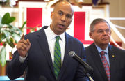 Booker again rails against Trump's Supreme Court pick, this time in N.J.