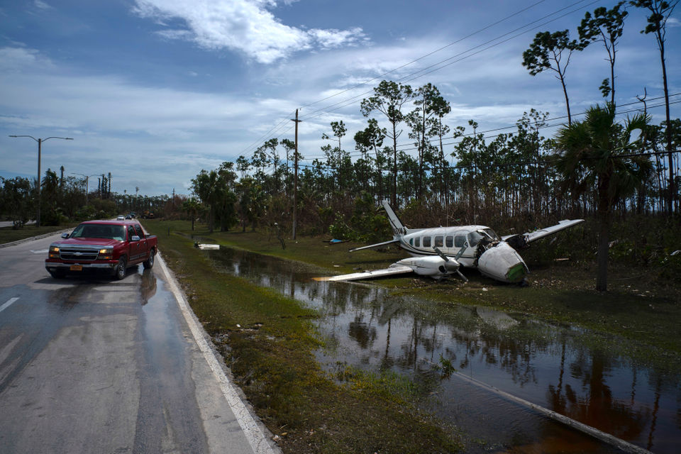 Hurricane Dorian: 28 photos show devastation after storm hit