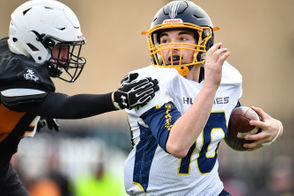 """Football fans may notice something amiss when they tune in to watch Breckenridge in the Division 8 state championship game at 10 a.m. Friday at Ford Field. Except nothing's amiss. In fact, it's all the same, as in status quo, as in never-changing, as in Breckenridge football 2018. """"Some of our kids will have torn pants ... our quarterback used tape to keep his jersey together,"""" Breckenridge coach Kris Robinson said. """"Nobody is changing anything. I told them people are going to be watching, but they don't care."""" Calling the Huskies creatures of habit is an insult to creatures. """"We're idiots ... 100 percent,"""" Robinson said. """"And I love it."""