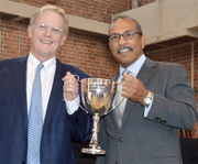 From coach to lifetime philanthropist: Cleland Powell receives The Times-Picayune Loving Cup