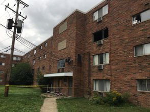 Firefighters responded Friday afternoon to a fire on the third floor of the Loganberry Ridge Apartments.