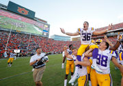 'He looks in control:' Morten Andersen, thankful LSU fans among Cole Tracy supporters
