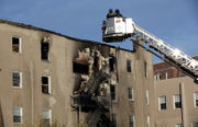 Update: 2 injured, 15 families evacuated after fire destroys Summit apartments