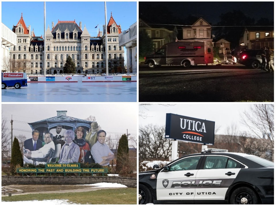 25 most dangerous towns and cities in Upstate NY, according