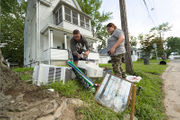 This is what Little Falls looks like days after historic flood sparked state of emergency