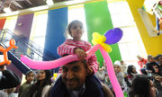 New Year's Eve enlivened by Crayola dance parties, confetti bursts (PHOTOS)
