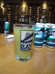 Ohio brewery's murky, algae-inspired beer looks to protect clean water sources