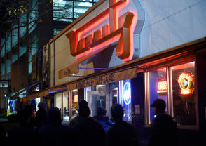 Varsity Pizza (Marshall Street area) 802 S. Crouse Ave, Syracuse | (315) 478-1235 The quintessential Orange sports hang-out -- note the pennants for SU football opponents turned upside down when the Orange win. Great spot for pizza, wings, beer -- all the pre- or post-game essentials. A Syracuse classic.