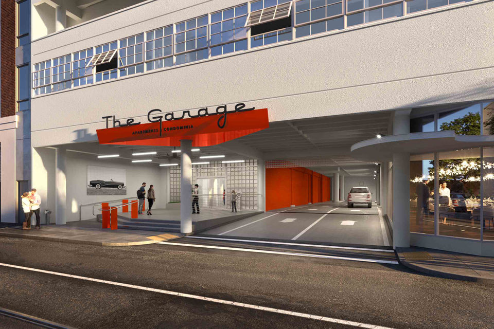 See plans for The Garage, a new apartment complex with car elevators ...