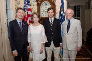 Society of the Cincinnati fetes French scholar