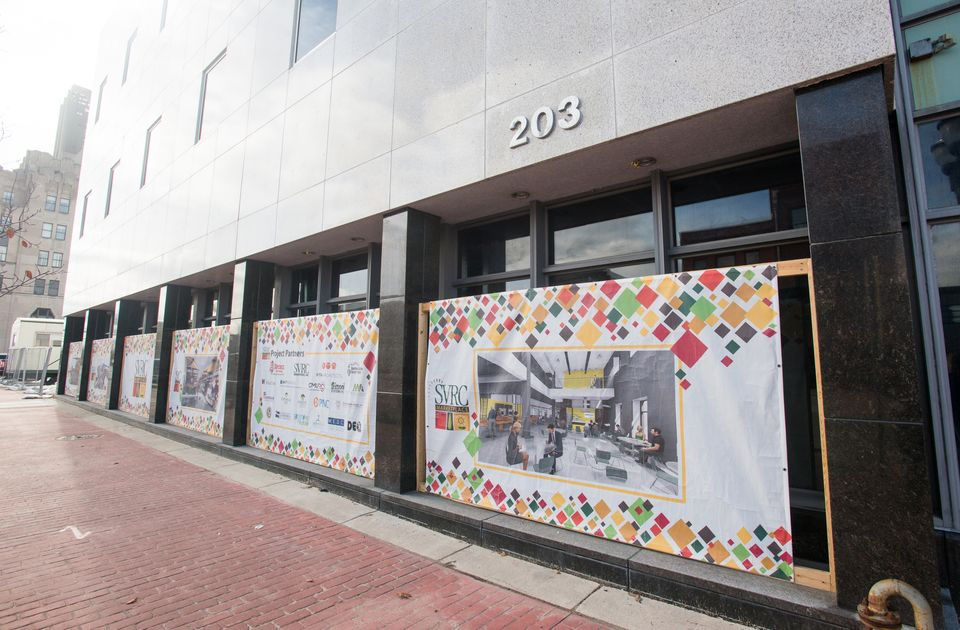 """<p><strong>SAGINAW, MI</strong> -- The long awaited $22 million SVRC Marketplace celebrates its grand opening at noon on Friday, June 22.</p> <p>The market building, 203 S. Washington Ave., houses <a href=""""http://www.mlive.com/news/saginaw/index.ssf/2018/06/post_195.html"""">over 40 businesses</a> including eateries and craft vendors.</p> <p>The 100,000-square-foot building, which was constructed in the late-1950s and served as the home of The Saginaw News, features two incubator kitchens, food storage and preparation areas available to vendors.</p> <p><a href=""""http://www.mlive.com/news/saginaw/index.ssf/2018/05/downtown_saginaw_farmers_marke_10.html"""">The Downtown Saginaw Farmers' Market </a>opened at the market under a new outdoor pavilion in May.</p> <p>In addition to the food and craft vendors on hand for the market's opening, there are several permanent businesses operating in the building, including Spence Brothers Construction, Central Michigan University Research Center, Miller's Tap Room and Wine Bar and a Frankenmuth Credit Union branch,</p> <p>Here's a line-up of all the businesses opening at the market:</p> <p><br></p>"""