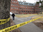 State and local police investigating death of man at Amherst College