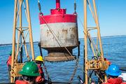 See Coast Guard crew install buoys on Saginaw Bay