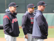 Cleveland Indians not concerned with pitch clock during first few spring training games