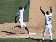 Tigers' JaCoby Jones is making plays all over the field (and making a case to keep playing)