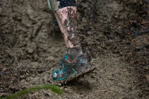 Hundreds of runners turned out for the annual ultra 50K and 25K Hagg Lake Mud Runs Saturday and Sunday, Feb. 16-17, 2019, at Henry Hagg Lake in Gaston, Ore.