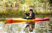 Officials dedicate new accessible kayak launch along Grand River