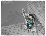 Editorial cartoons for June 24, 2018: Immigrant children, space force, tariffs