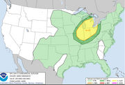 Michigan's severe weather risks for Tuesday include heavy rain, tornadoes