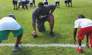 Palmer-Williams Group marks fifth year with free football camp