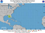 Low pressure system in Gulf means heavy rain for Florida, forecasters say