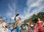 Cirque Du Soleil's CORTEO parades in New Orleans