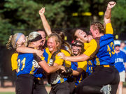 Centreville 'on Cloud 9' after defeating Coleman for first softball state title