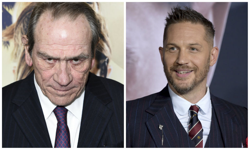 Today's famous birthdays list for September 15, 2019 includes celebrities Tommy Lee Jones, Tom Hardy