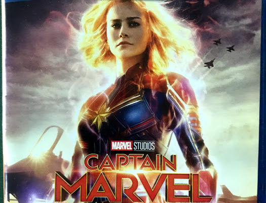 Captain Marvel' starring Brie Larson leads DVD and Blu-ray