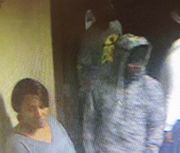 Do you know 2 men, woman sought in hotel room armed robbery?