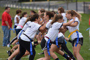 Nazareth Area girls gear up for powder puff game (PHOTOS)