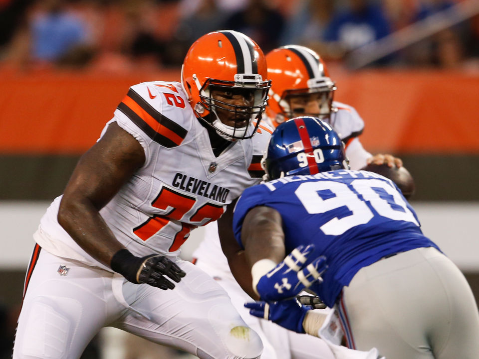 brand new 4ead9 37eeb Shon Coleman's pursuit of Browns left tackle spot: 6 things ...